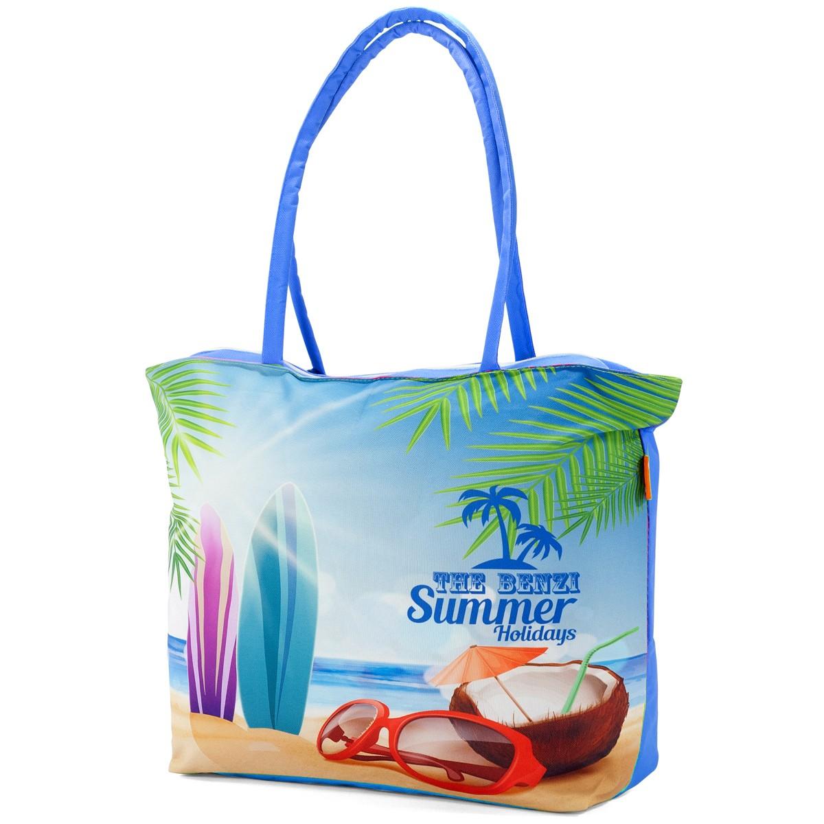 Τσάντα Παραλίας Benzi 5000 Blue
