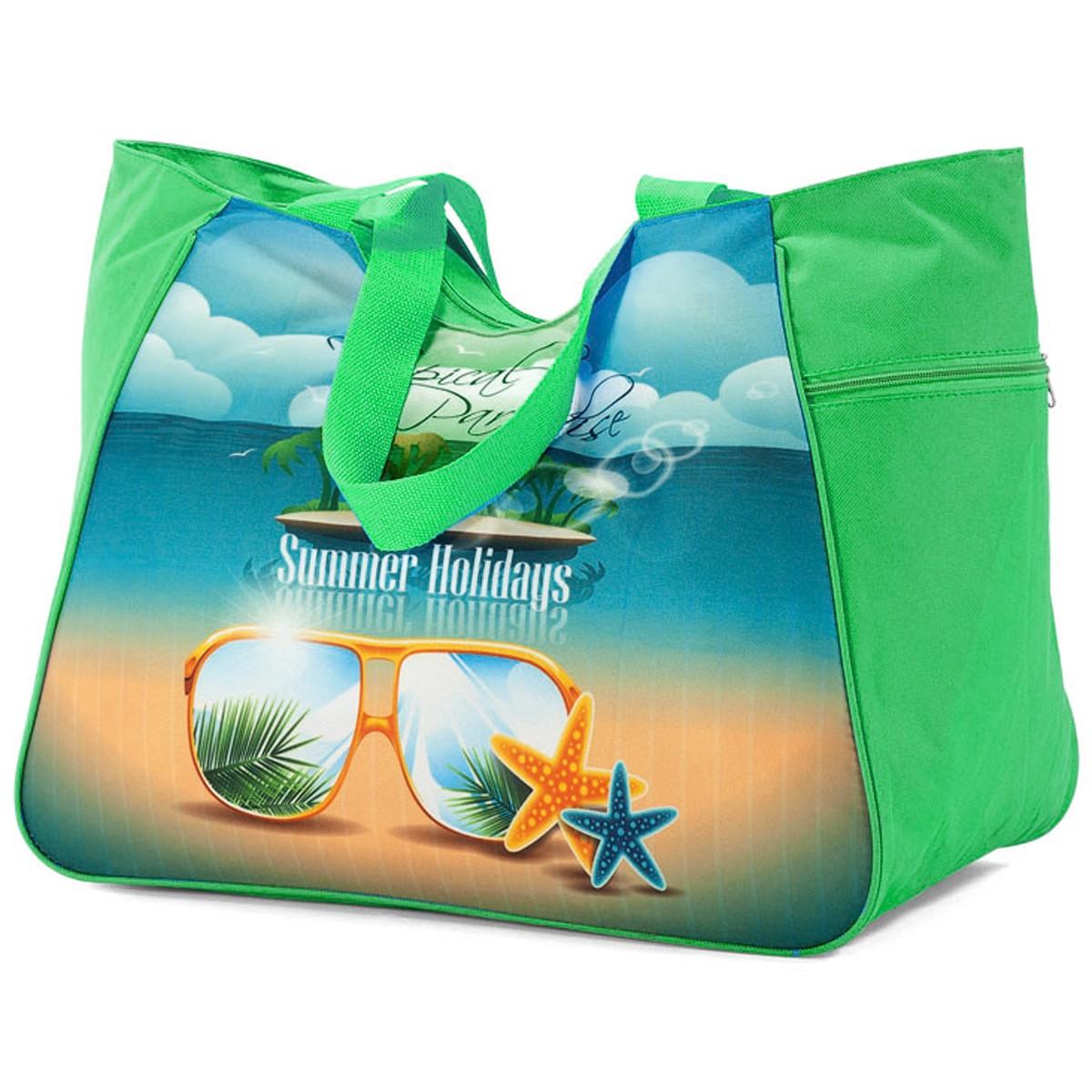 Τσάντα Παραλίας Benzi 4862 Green home   θαλάσσης   τσάντες παραλίας