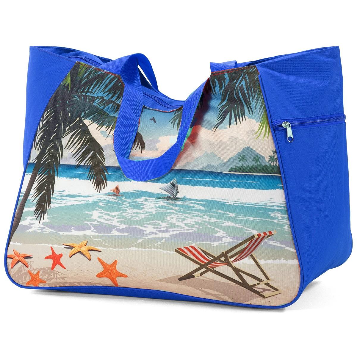 Τσάντα Παραλίας Benzi 5001 Blue