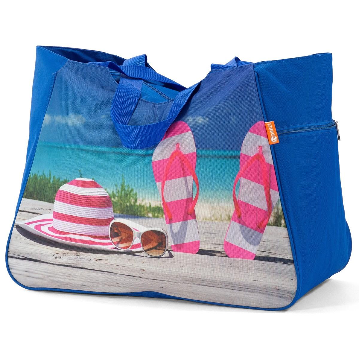 Τσάντα Παραλίας Benzi 5002 Blue
