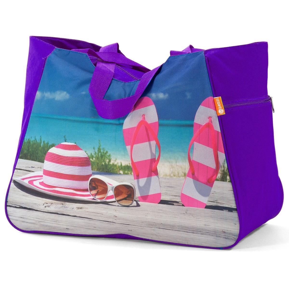 Τσάντα Παραλίας Benzi 5002 Purple