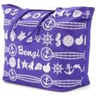 Τσάντα Παραλίας Benzi 4998 Purple