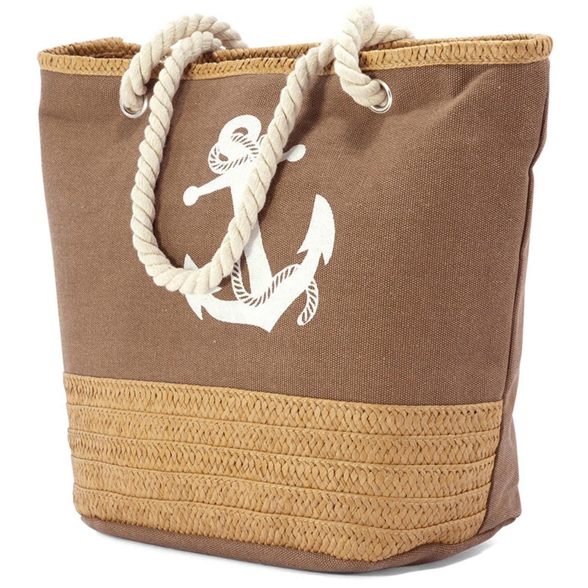 Τσάντα Παραλίας Benzi 4773 Brown home   θαλάσσης   τσάντες παραλίας