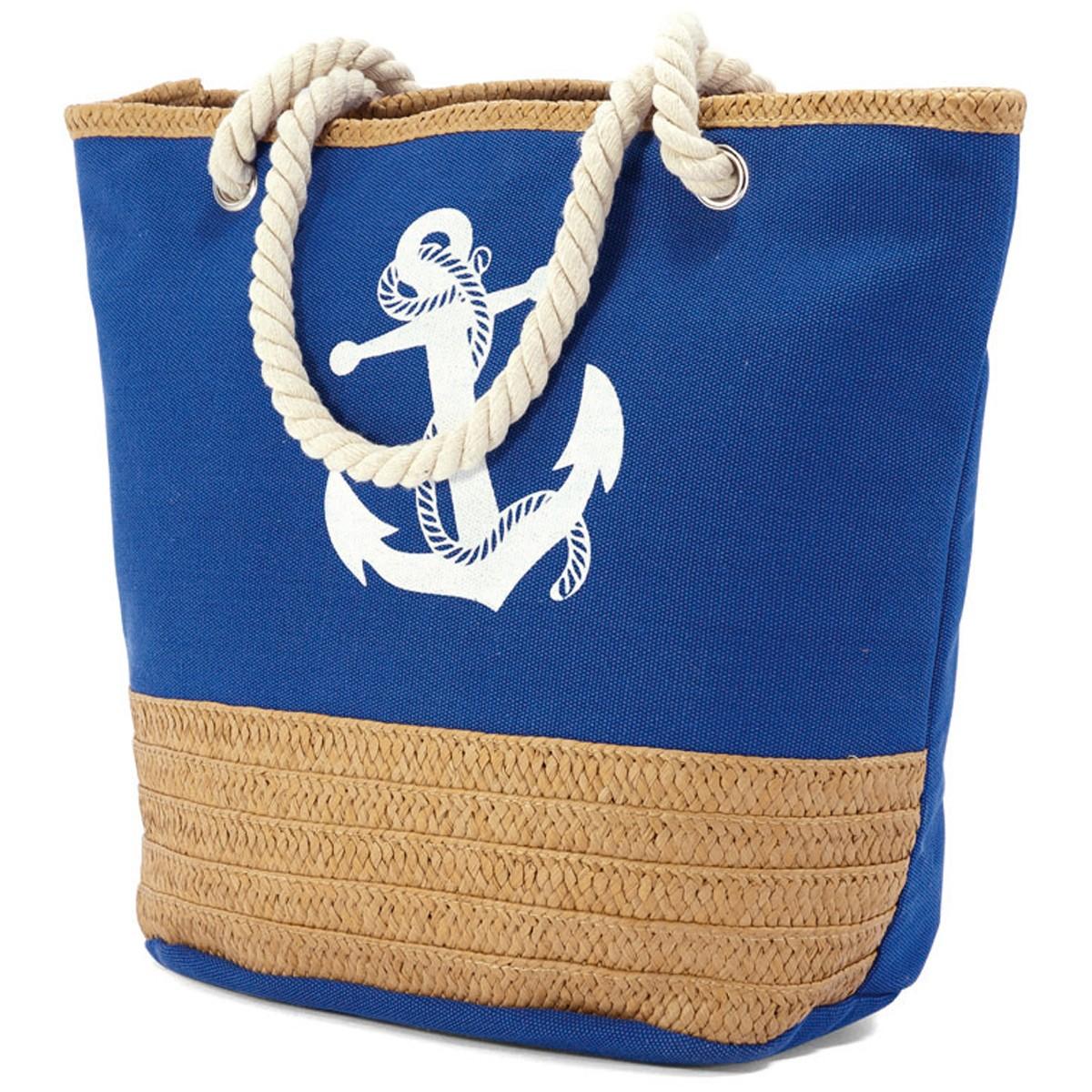 Τσάντα Παραλίας Benzi 4773 Blue home   θαλάσσης   τσάντες παραλίας