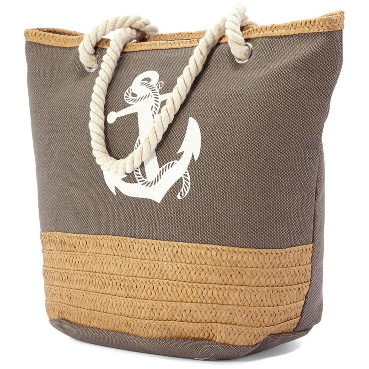 Τσάντα Παραλίας Benzi 4773 Grey home   θαλάσσης   τσάντες παραλίας