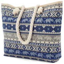 Τσάντα Παραλίας Benzi 4807 Blue
