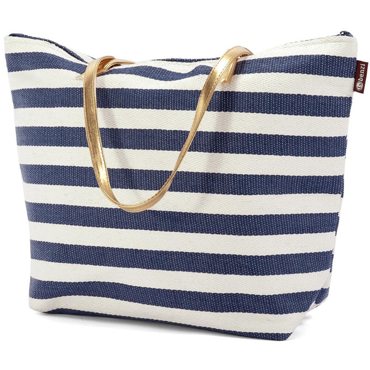 Τσάντα Παραλίας Benzi 4809 Blue