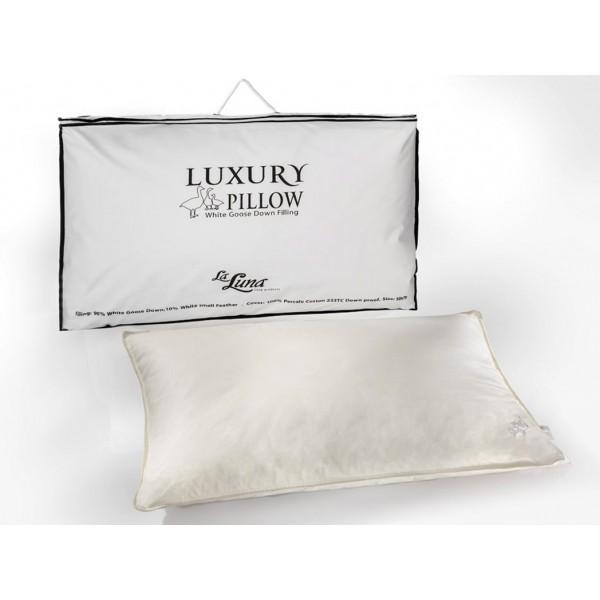 Μαξιλάρι Ύπνου Πουπουλένιο La Luna Luxury