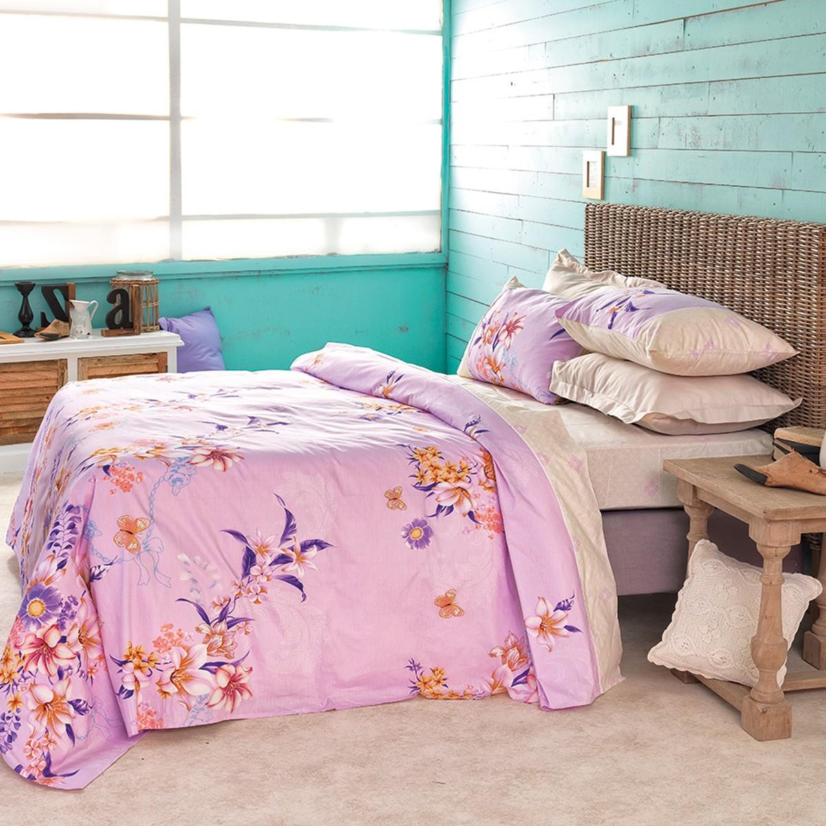 Σεντόνια Μονά (Σετ) Palamaiki Satin Beauty 4273 home   κρεβατοκάμαρα   σεντόνια   σεντόνια μονά