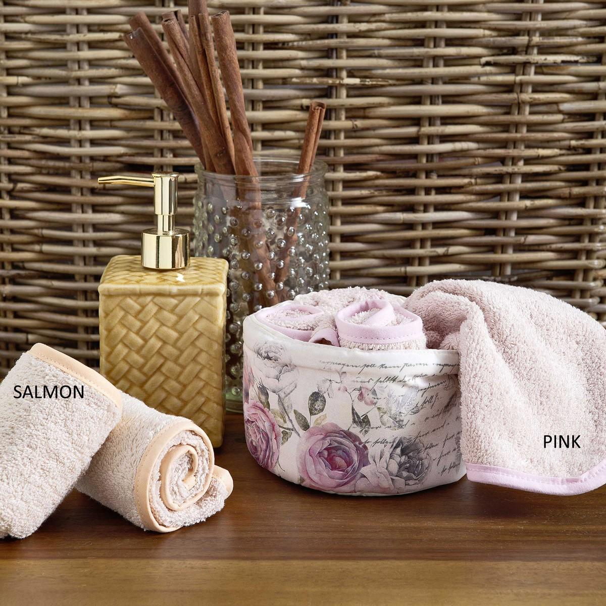 Πετσέτες Δώρου (Σετ 4τμχ) Nima La Visite Miss Rose