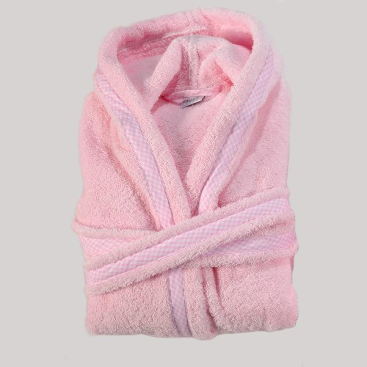 Παιδικό Μπουρνούζι Down Town Bebe Pink Νο4-6 Νο4-6