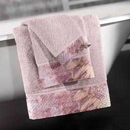 Πετσέτες Μπάνιου (Σετ 3τμχ) Guy Laroche Mistral Lilac