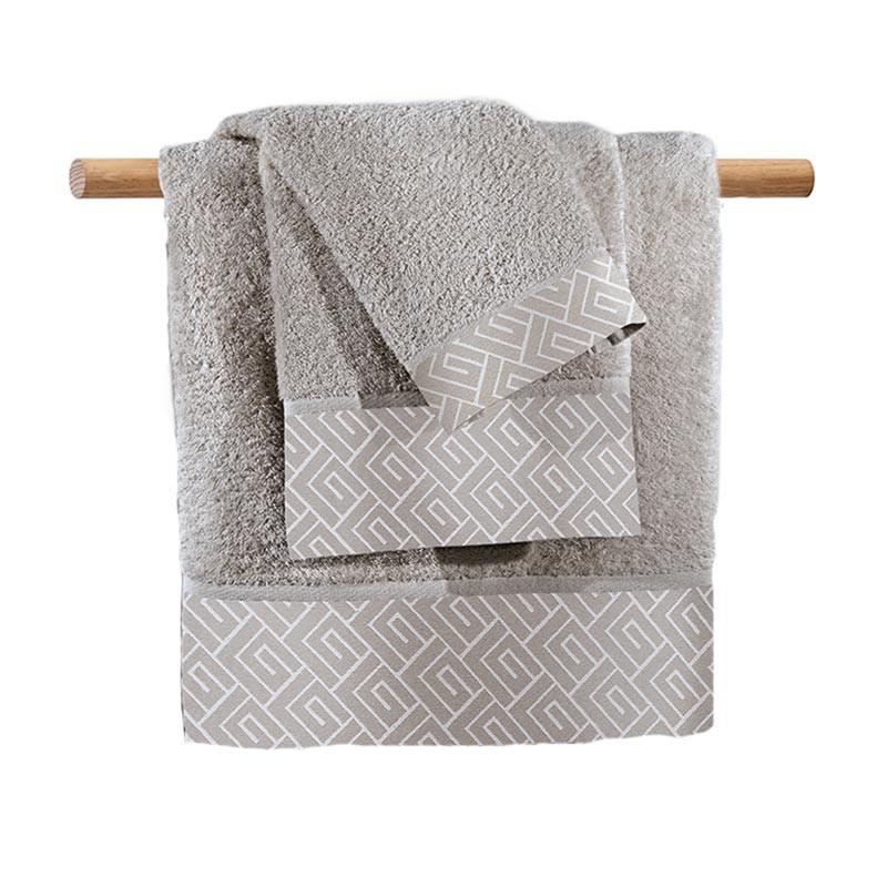 Πετσέτες Μπάνιου (Σετ 3τμχ) Guy Laroche Famous Silver
