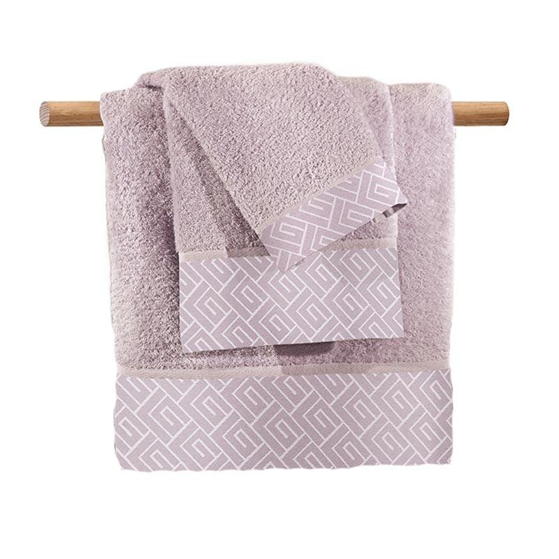Πετσέτες Μπάνιου (Σετ 3τμχ) Guy Laroche Famous Lilac