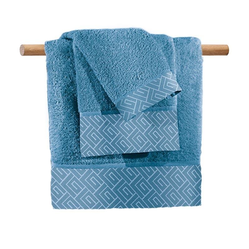 Πετσέτες Μπάνιου (Σετ 3τμχ) Guy Laroche Famous Blue