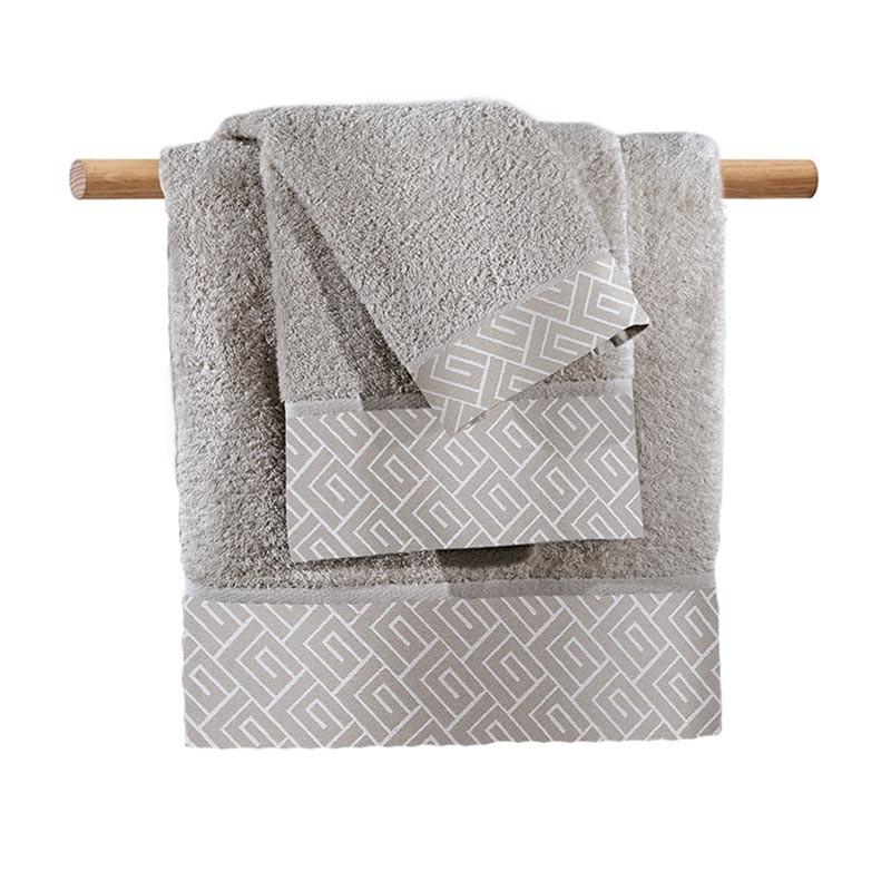 Πετσέτα Σώματος (90x150) Guy Laroche Famous Silver home   μπάνιο   πετσέτες μπάνιου