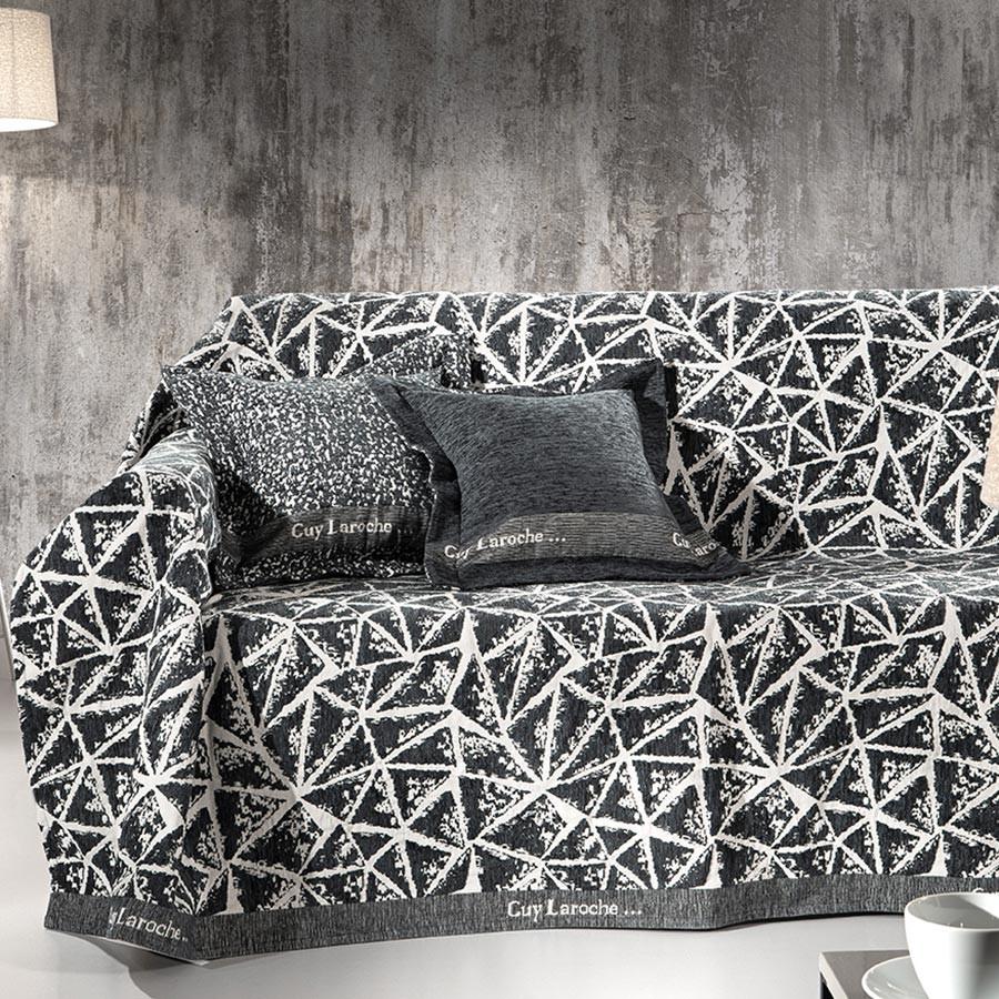Ριχτάρι Τριθέσιου (170×300) Guy Laroche Panorama Charcoal