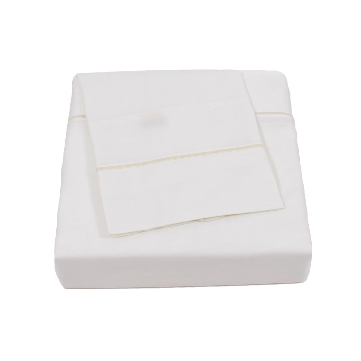 Σεντόνια Υπέρδιπλα (Σετ) BW Satin Cotton White