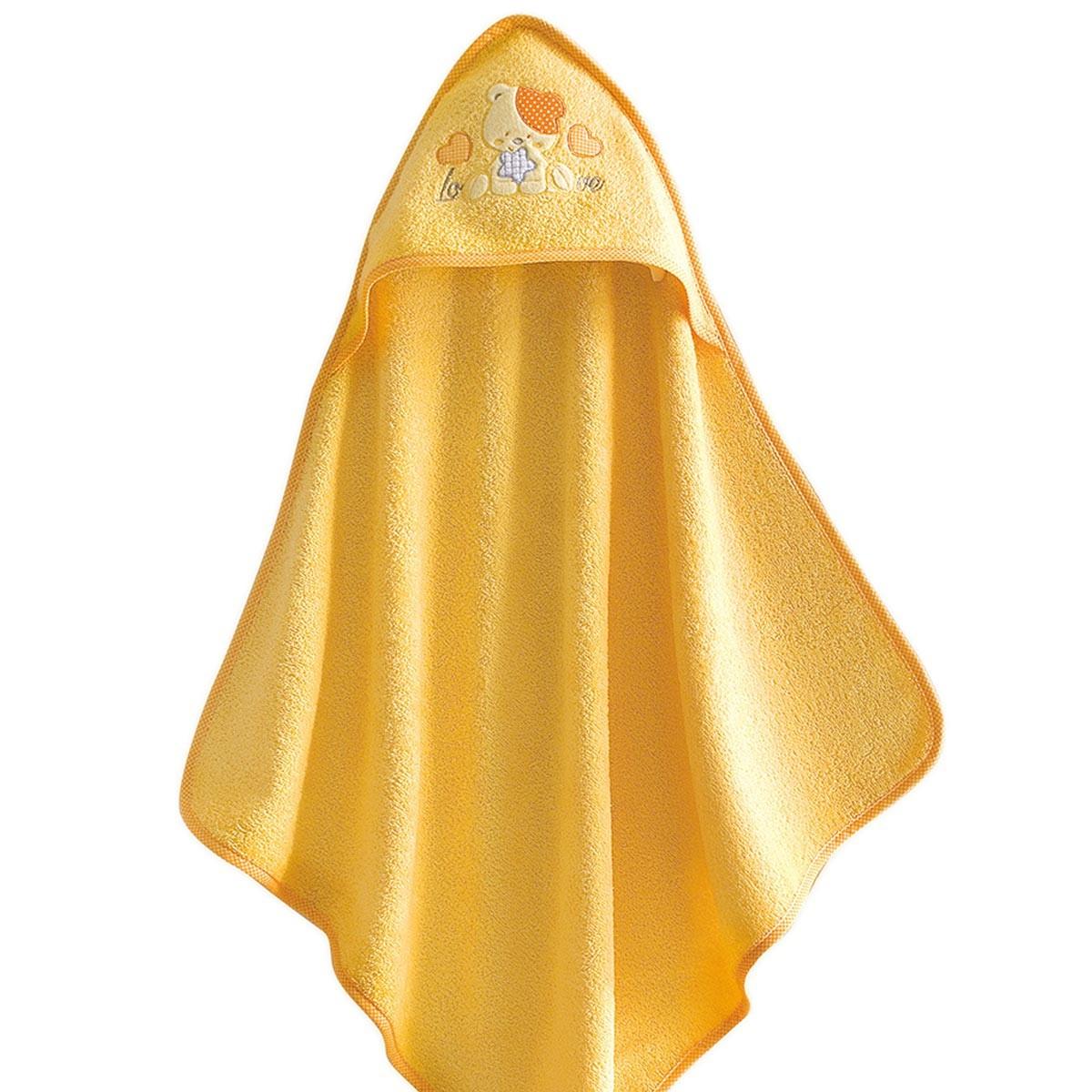 Βρεφική Κάπα Rythmos Baby Line LoveLove Yellow