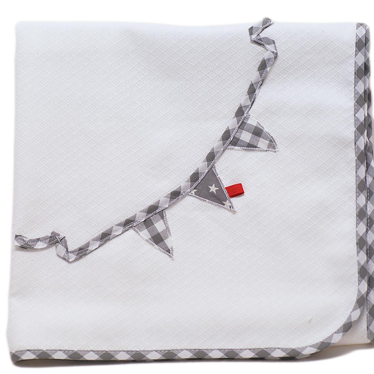 Κουβέρτα Πικέ Αγκαλιάς Ninna Nanna Γκρι Αστέρι home   βρεφικά   κουβέρτες βρεφικές   κουβέρτες καλοκαιρινές