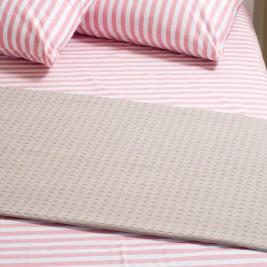 Κουβέρτα Πικέ Μονή Melinen Grey