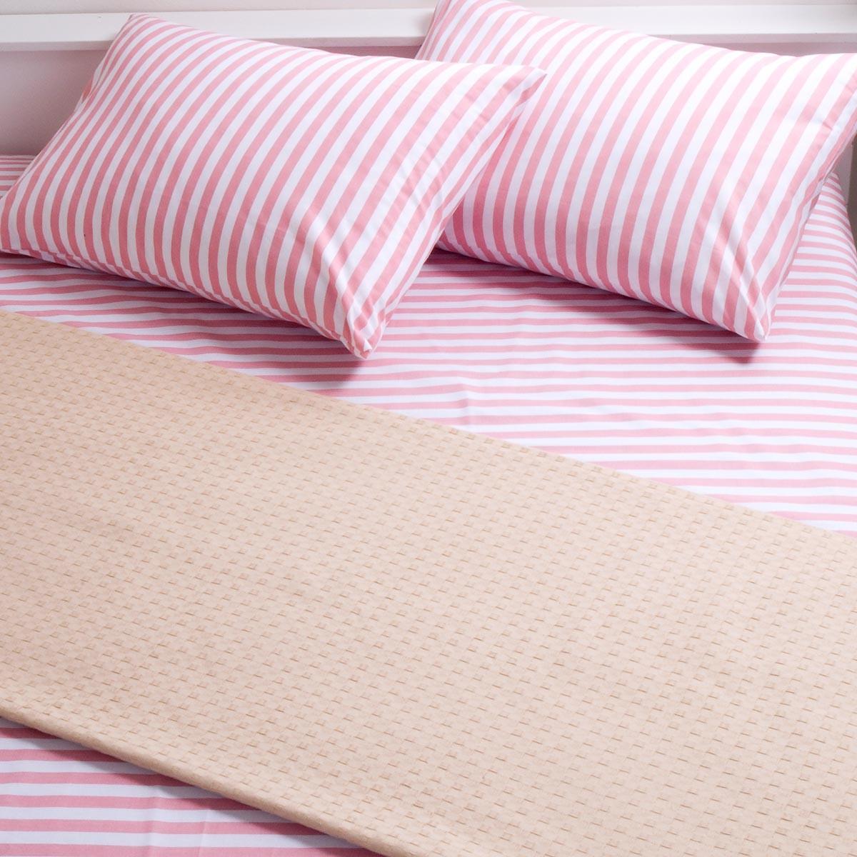 Κουβέρτα Πικέ Διπλή Melinen Beige 70873