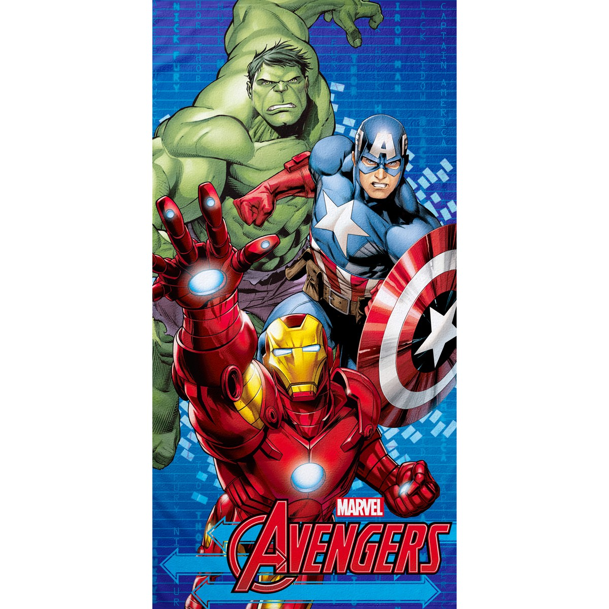 Παιδική Πετσέτα Θαλάσσης Palamaiki Avengers/2