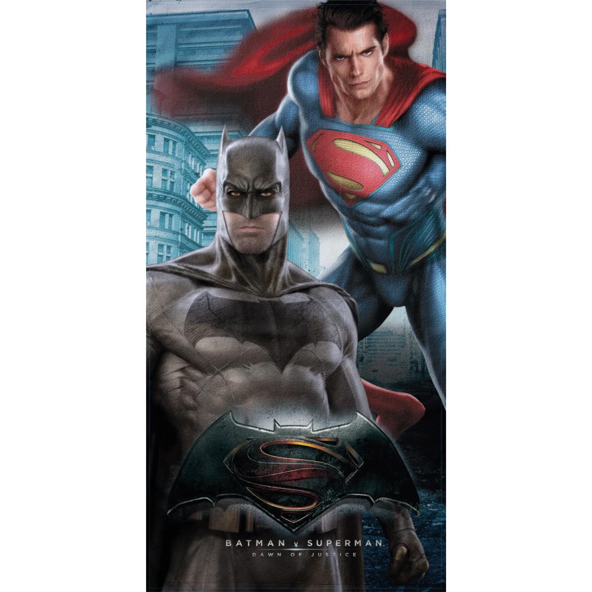 Παιδική Πετσέτα Θαλάσσης Palamaiki Batman vs Superman home   θαλάσσης   πετσέτες θαλάσσης παιδικές