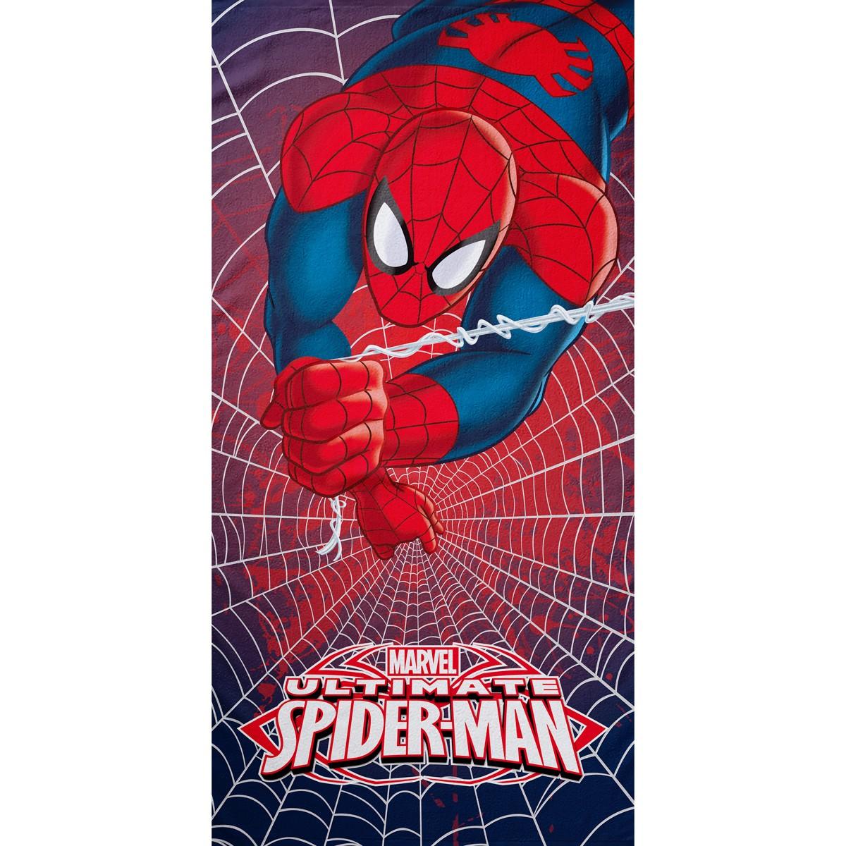 Παιδική Πετσέτα Θαλάσσης Palamaiki Spiderman Heroes