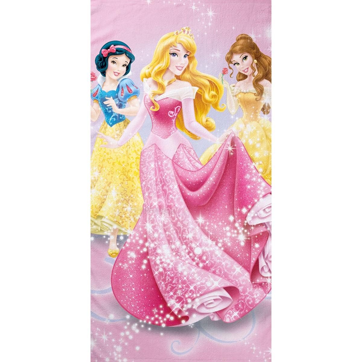 Παιδική Πετσέτα Θαλάσσης Palamaiki Disney Princess Party