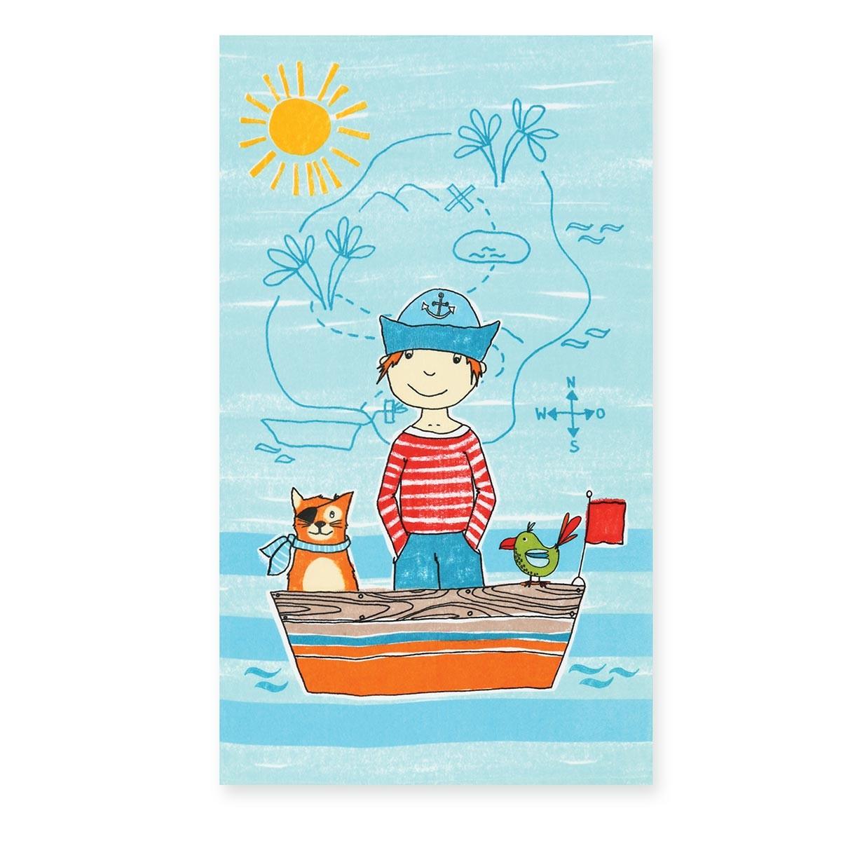 Παιδική Πετσέτα Θαλάσσης Nef-Nef Raider