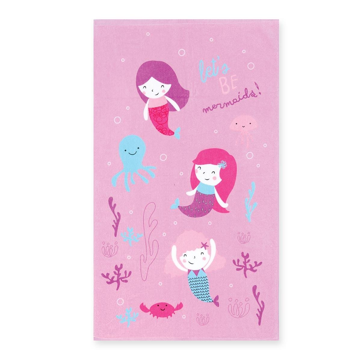 Παιδική Πετσέτα Θαλάσσης Nef-Nef Mermaids