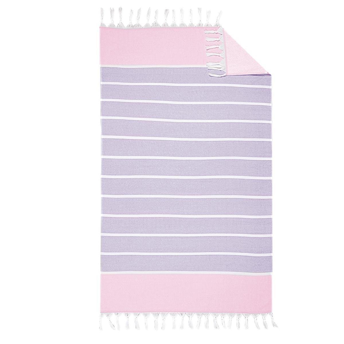 Πετσέτα Θαλάσσης - Παρεό Nef-Nef Sunset Lilac