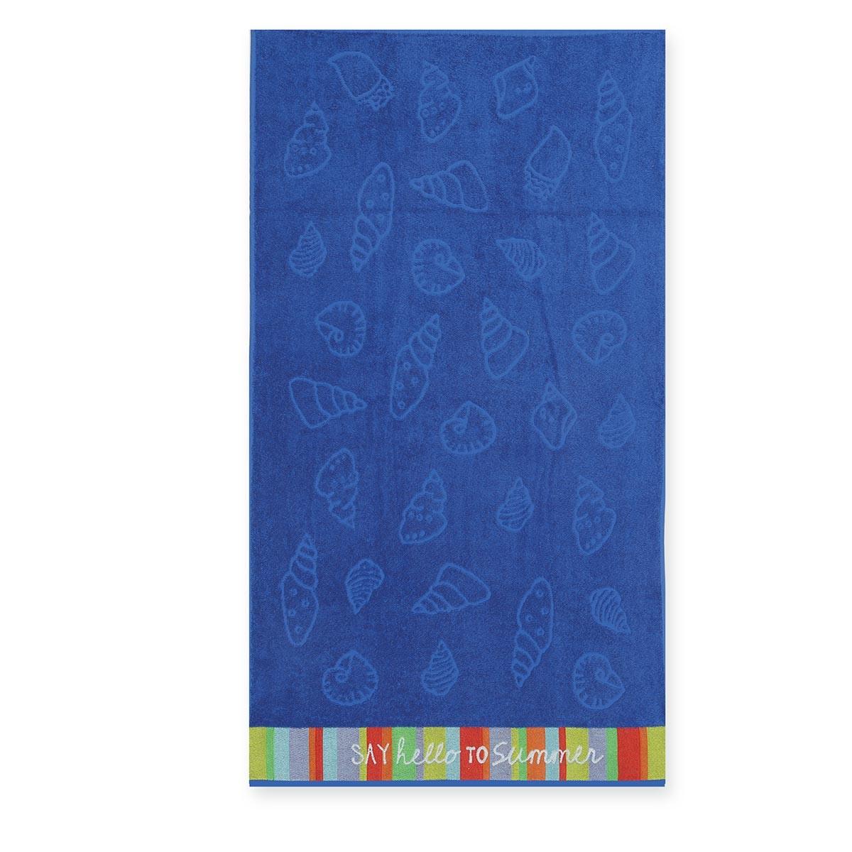 Παιδική Πετσέτα Θαλάσσης Nef-Nef Shell Blue