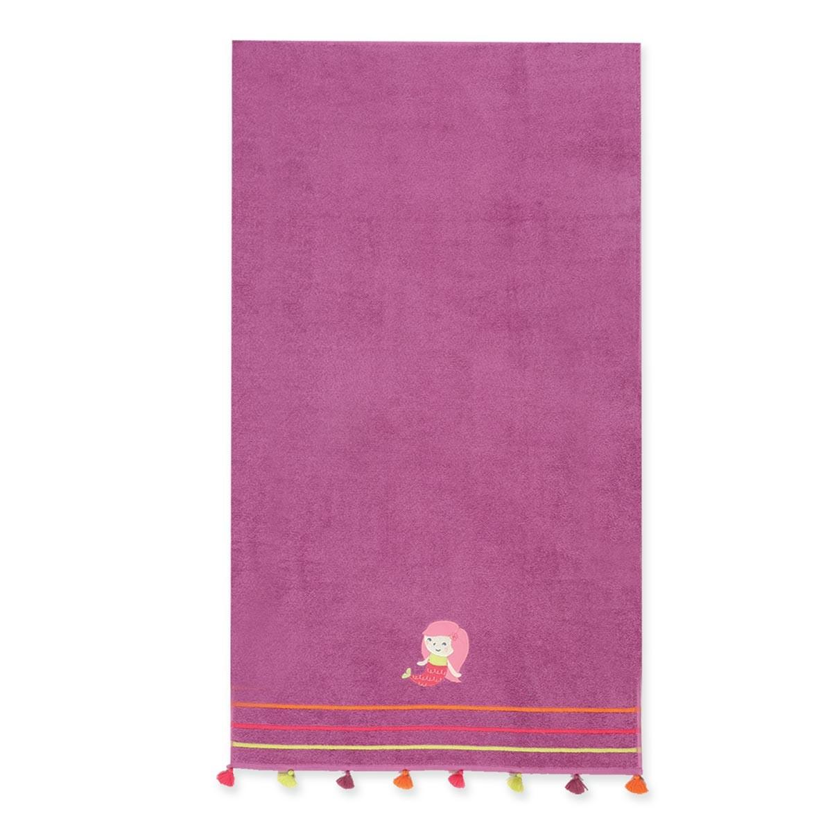 Παιδική Πετσέτα Θαλάσσης Nef-Nef Junior Mermaid Purple