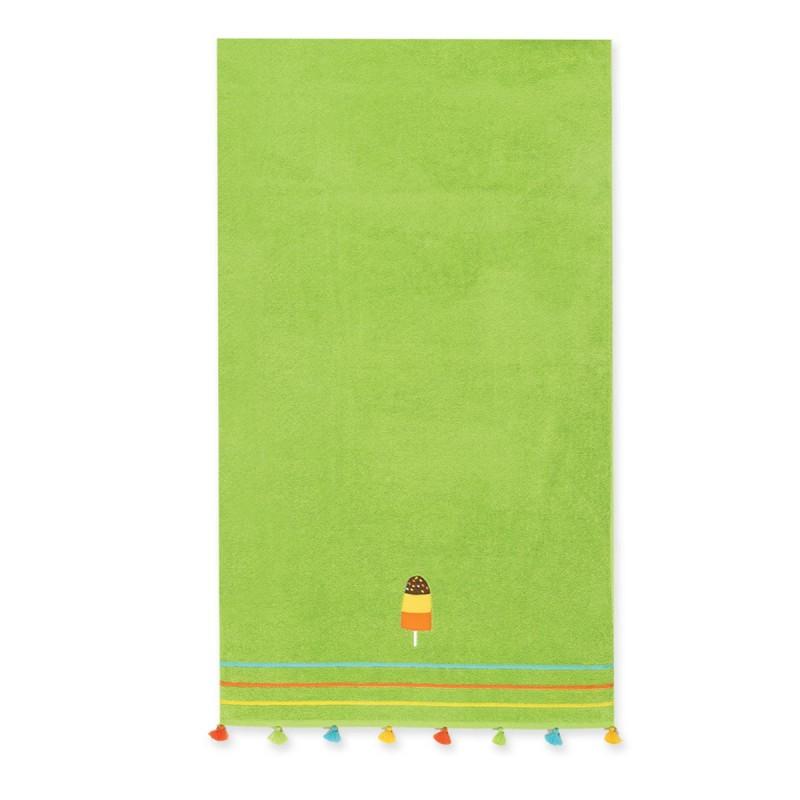 Παιδική Πετσέτα Θαλάσσης Nef-Nef Junior Frosty Green
