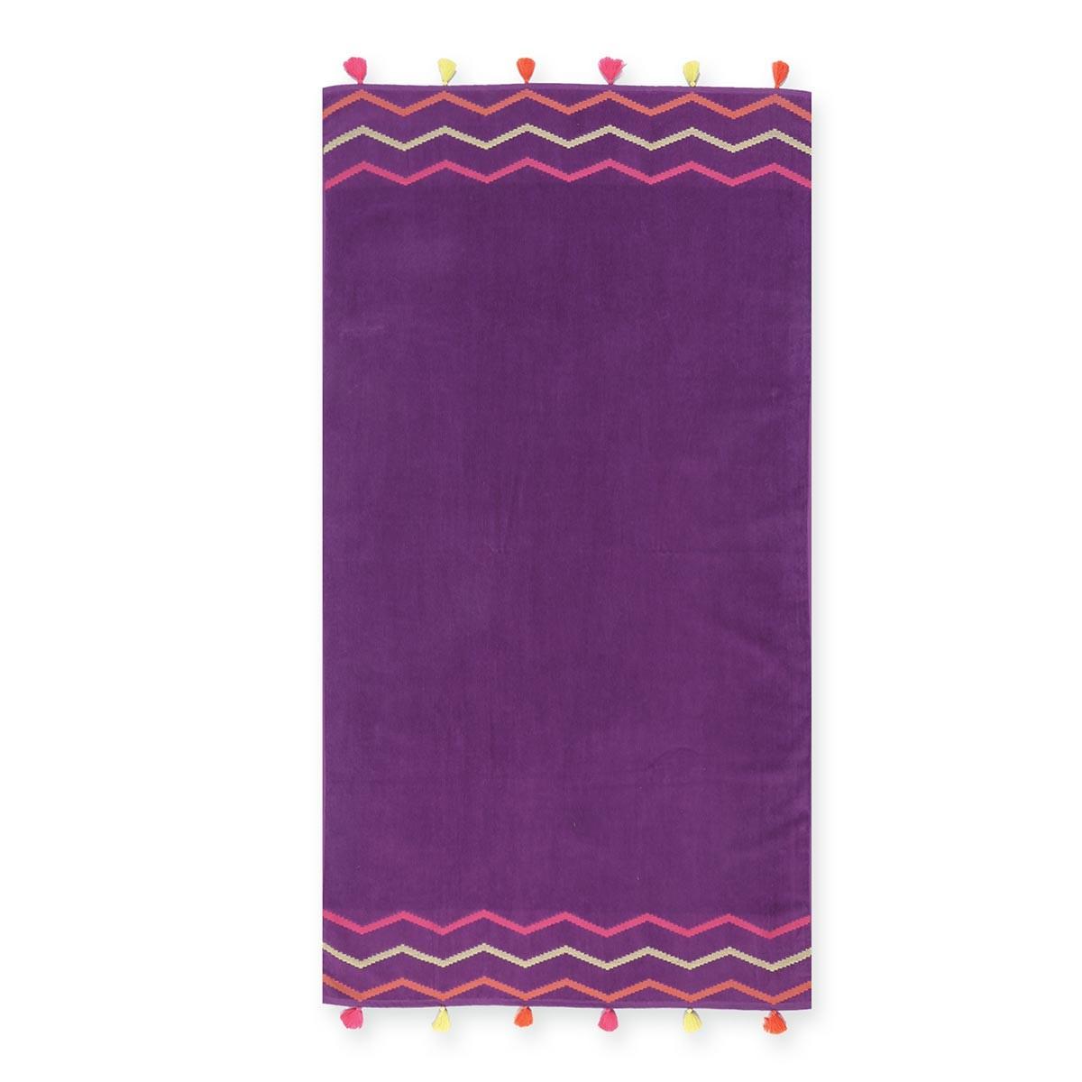Πετσέτα Θαλάσσης Nef-Nef Exotic Purple