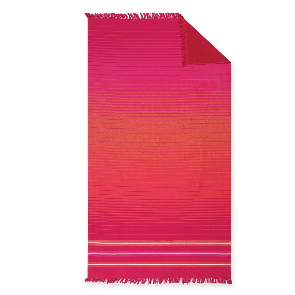 Πετσέτα Θαλάσσης-Παρεό Nef-Nef Fade Red