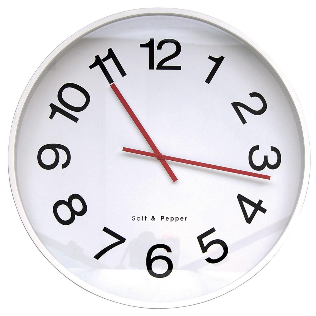 Ρολόι Τοίχου Salt & Pepper Zone BAM31563