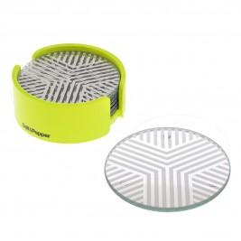 Σουβέρ (Σετ 6τμχ) Salt & Pepper Coasters BAM39932