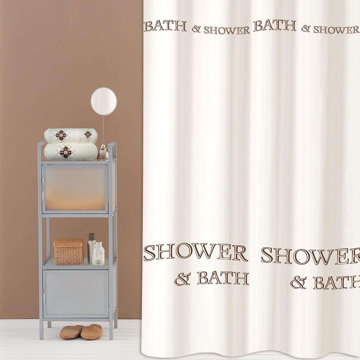 Κουρτίνα Μπάνιου (240×200) San Lorentzo Shower And Bath
