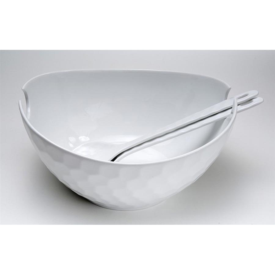 Σαλατιέρα Με Κουτάλες Espiel Κυψέλη WEM303