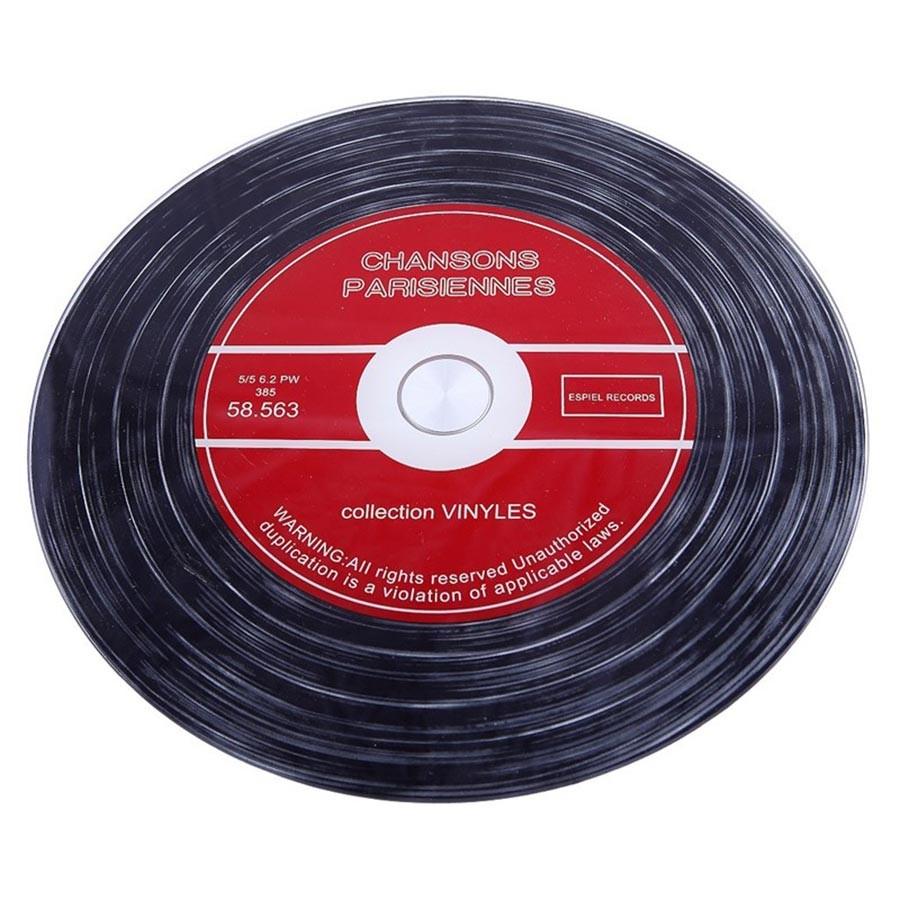 Δίσκος Σερβιρίσματος Περιστρεφόμενος Βινύλιο Espiel INT8526 home   διακόσμηση   δίσκοι   πιατέλες