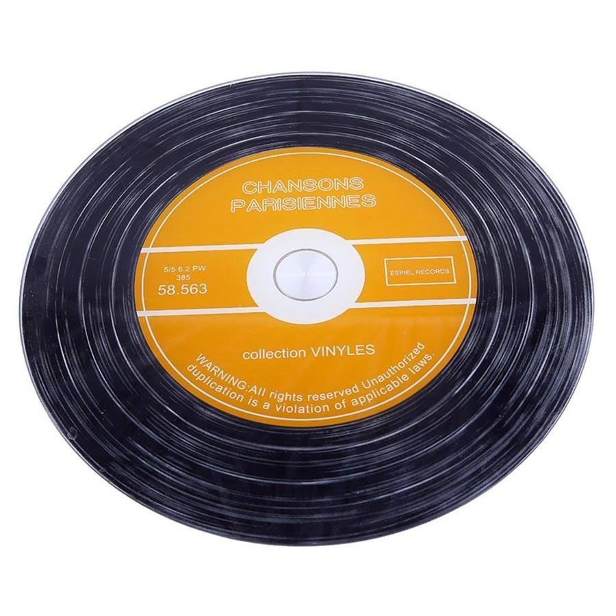 Δίσκος Σερβιρίσματος Περιστρεφόμενος Βινύλιο Espiel INT8527 home   διακόσμηση   δίσκοι   πιατέλες