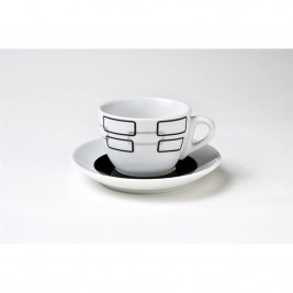 Φλυτζάνια Καφέ + Πιατάκια (Σετ 6τμχ) Espiel SBD097