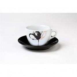 Φλυτζάνια Καφέ + Πιατάκια (Σετ 6τμχ) Espiel SBD477