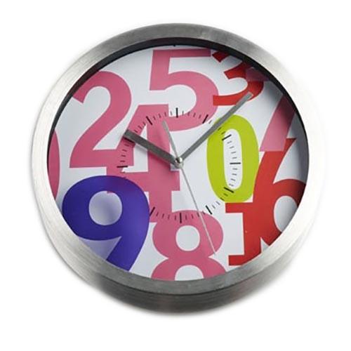 Ρολόι Τοίχου Espiel ALU108