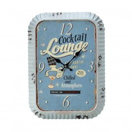 Ρολόι Τοίχου Cocktail Lounge Espiel LOG233