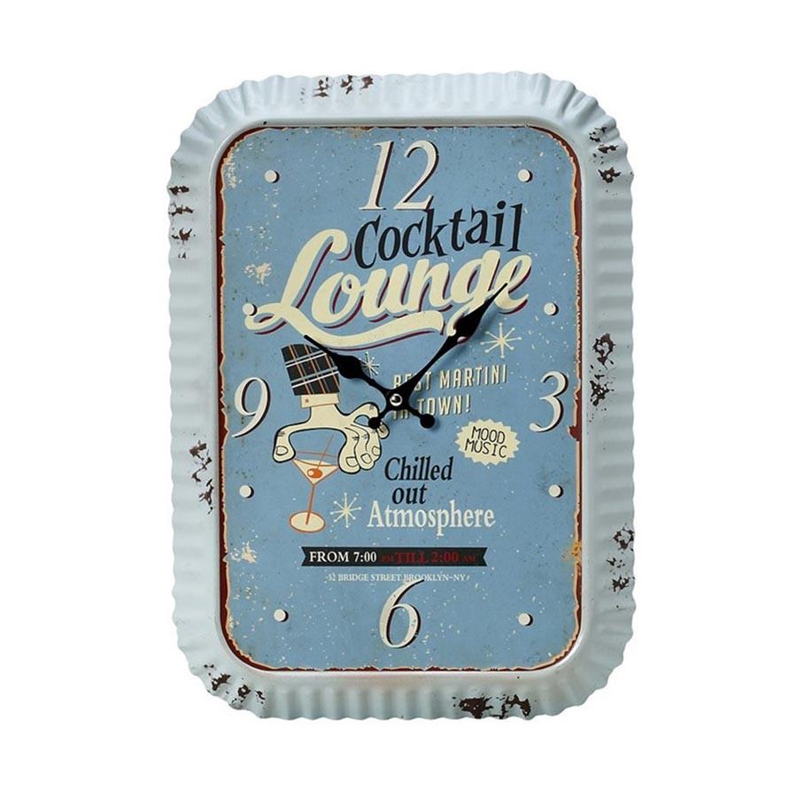 Ρολόι Τοίχου Cocktail Lounge Espiel LOG233 home   διακόσμηση   ρολόγια