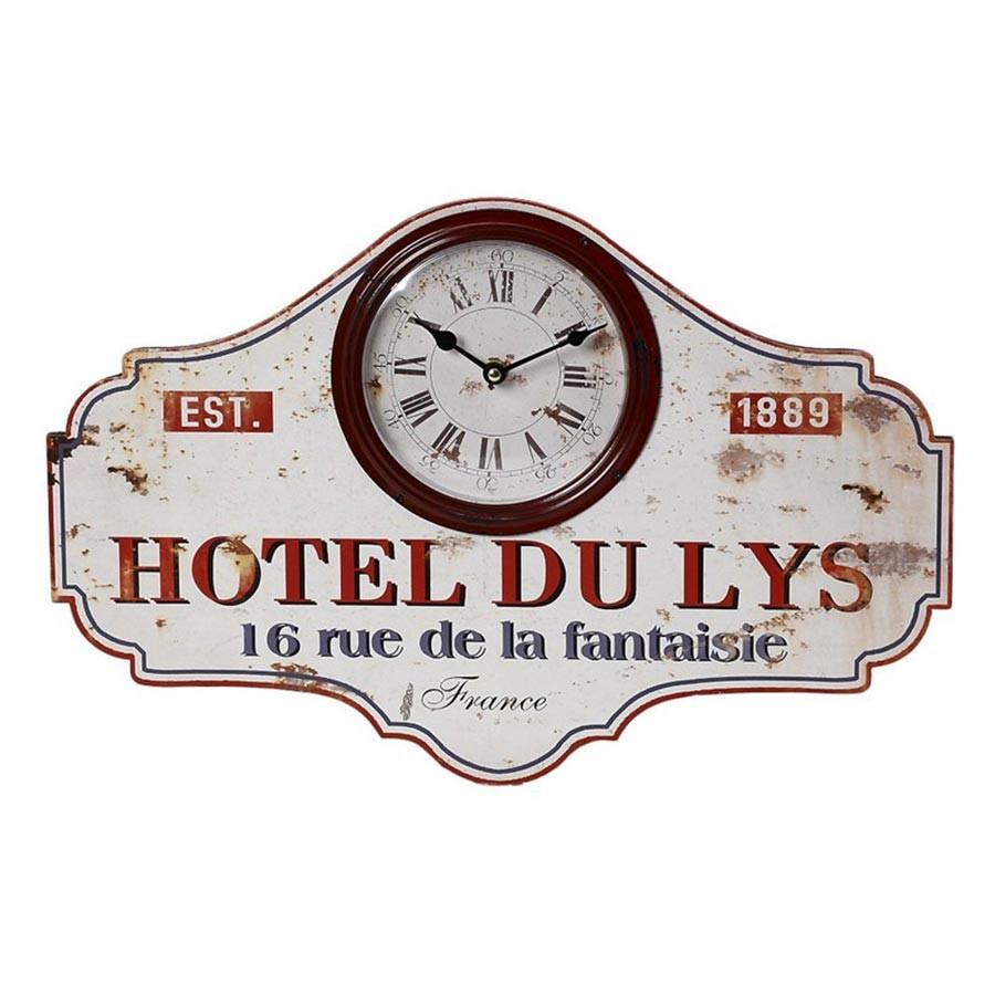 Ρολόι Τοίχου Hotel Du Lys Espiel LOG239